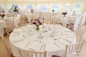sobre déco table mariage