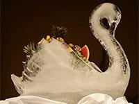 Scuplture sur glace