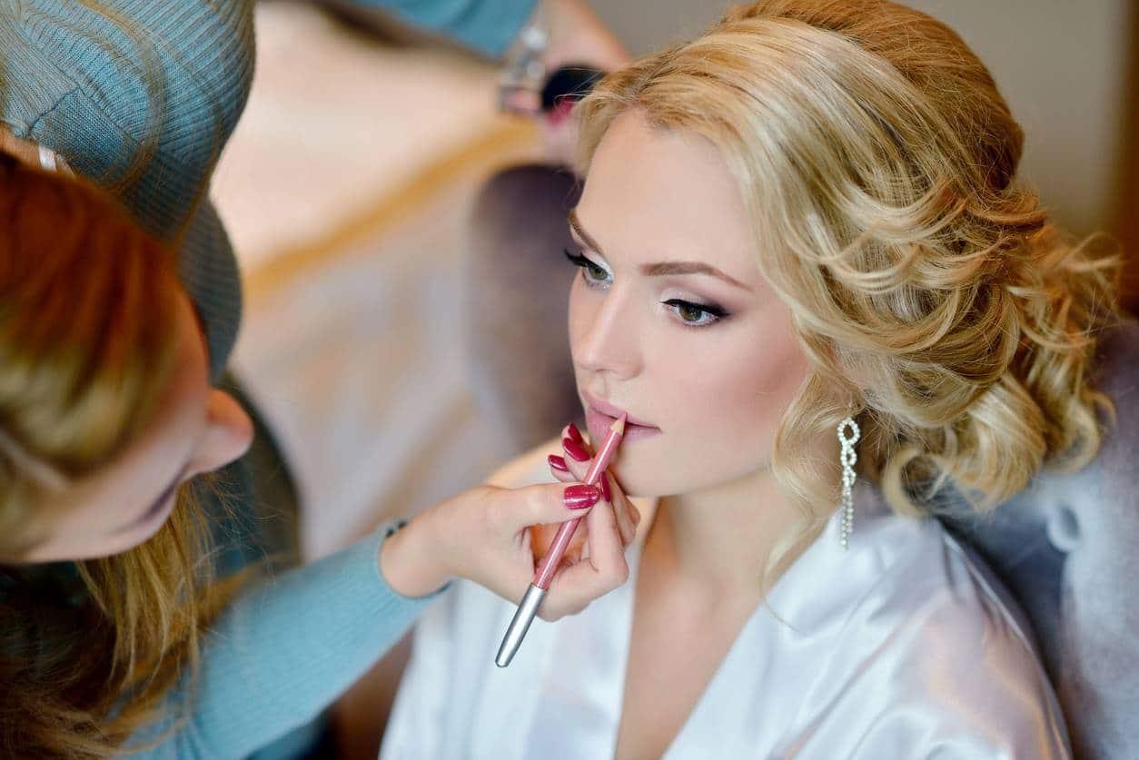 une belle mariée est une mariée bien maquillée